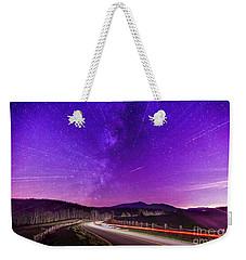 An Explosion In The Milky Way Weekender Tote Bag