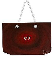 An Eye Is Upon You Weekender Tote Bag by Stefanie Forck