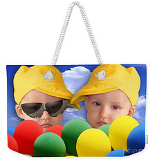 An Image Of A Photograph Of Your Child. - 07a Weekender Tote Bag