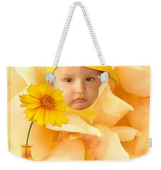 An Image Of A Photograph Of Your Child. - 09 Weekender Tote Bag