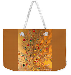 An Old Fashioned Christmas - Aluminum Tree Weekender Tote Bag by Suzanne Gaff