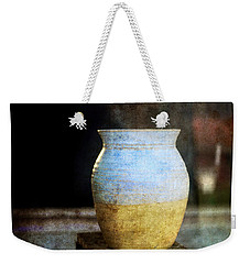 An Old Pot In Vintage Background Weekender Tote Bag