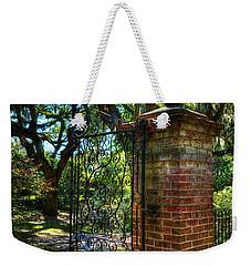 An Open Gate 2 Weekender Tote Bag
