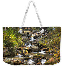 Ana Ruby Falls In Autumn Weekender Tote Bag