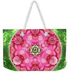 Anahata Rose Weekender Tote Bag