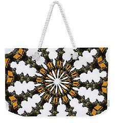 Ananasi Mandala Weekender Tote Bag by Lisa Brandel