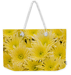 Weekender Tote Bag featuring the photograph Anastasia Sunny by Maj Seda