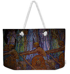 Weekender Tote Bag featuring the photograph Ancestry by Michael Krek