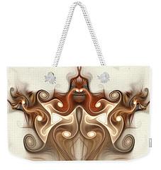 Ancient Carving Weekender Tote Bag