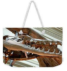 Ancient Crocodile Dinosaur Weekender Tote Bag