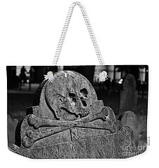 Ancient Gravestone Weekender Tote Bag