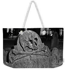 Ancient Gravestone Weekender Tote Bag