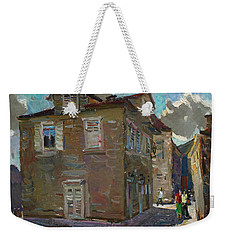Ancient House In Perast Weekender Tote Bag