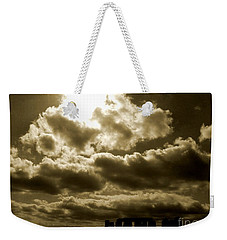 Weekender Tote Bag featuring the photograph Ancient Mystery by Vicki Spindler