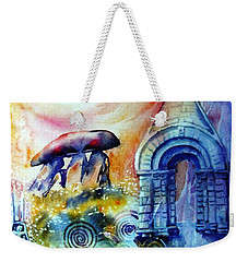 Ancient Stones Of Ireland No 2.  Weekender Tote Bag by Trudi Doyle