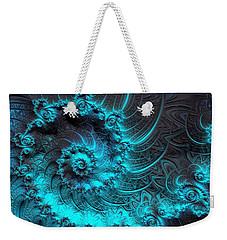 Ancient Verdigris -- Triptych 1 Of 3 Weekender Tote Bag