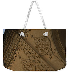 Weekender Tote Bag featuring the photograph Ancient Wall by Mini Arora