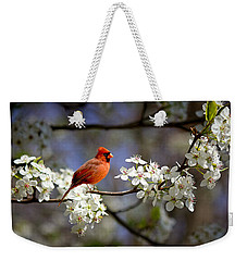 And A Carninal In A Pear Tree Weekender Tote Bag