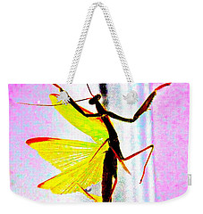 And Now Our Featured Dancer Weekender Tote Bag by Xn Tyler