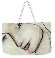 And The Palm Of His Hand... Weekender Tote Bag