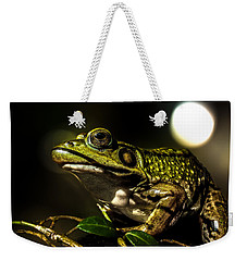 And This Frog Can Sing Weekender Tote Bag by Bob Orsillo