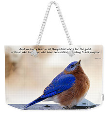 And We Know Weekender Tote Bag