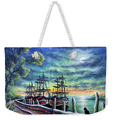 And We Shall Sail My Love And I Weekender Tote Bag