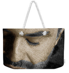 Andrea Bocelli And Vertical Weekender Tote Bag