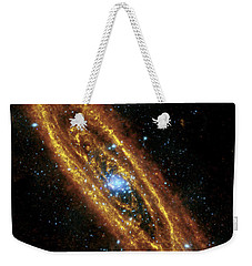 Andromeda Galaxy Weekender Tote Bag by Adam Romanowicz