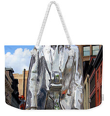 Andy Warhol Weekender Tote Bag by Mark Ashkenazi