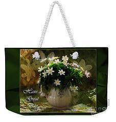 Anemones Weekender Tote Bag