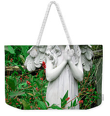 Angel Weekender Tote Bag by Aimee L Maher Photography and Art Visit ALMGallerydotcom