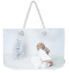 Weekender Tote Bag featuring the photograph Angel by Alana Ranney