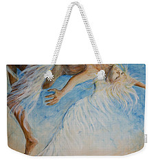 Angel Blu Drifter Weekender Tote Bag