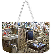 Angel Delgadillo's Barber Shop Weekender Tote Bag