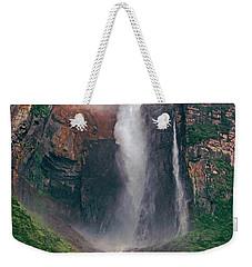 Angel Falls In Venezuela Weekender Tote Bag