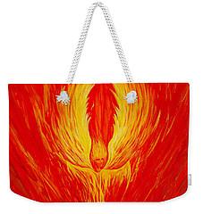 Angel Fire Weekender Tote Bag