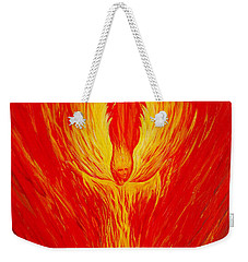 Angel Fire Weekender Tote Bag by Nancy Cupp