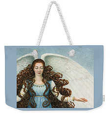 Angel In A Blue Dress Weekender Tote Bag