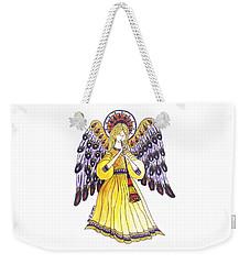 Angel In Horns Section Weekender Tote Bag