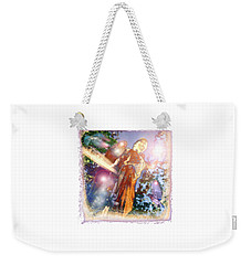 Weekender Tote Bag featuring the photograph Angel Light by Marie Hicks