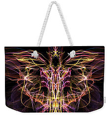 Angel Of Death Weekender Tote Bag by Lilia D