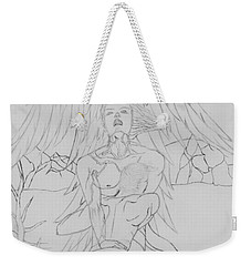 Angel Of God Struggle Weekender Tote Bag