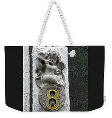 Angel Of Number Eight Weekender Tote Bag