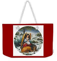 Angel Of Peace Weekender Tote Bag
