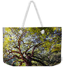 Angel Of Time Weekender Tote Bag