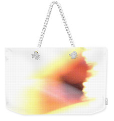 Weekender Tote Bag featuring the photograph Angel Wing by Mike Breau