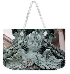 Weekender Tote Bag featuring the photograph Angel Wings by Ed Weidman