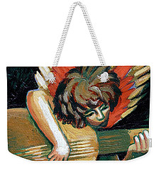 Angel With Lute Weekender Tote Bag
