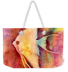 Angelfish II Weekender Tote Bag by Hailey E Herrera